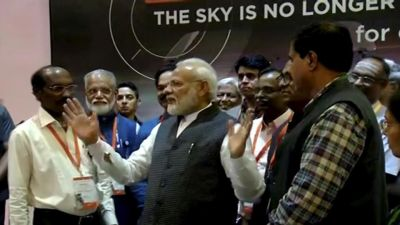 Chandrayaan 2: PM Modi boosts the morale of scientists after grave disappointment in ISRO