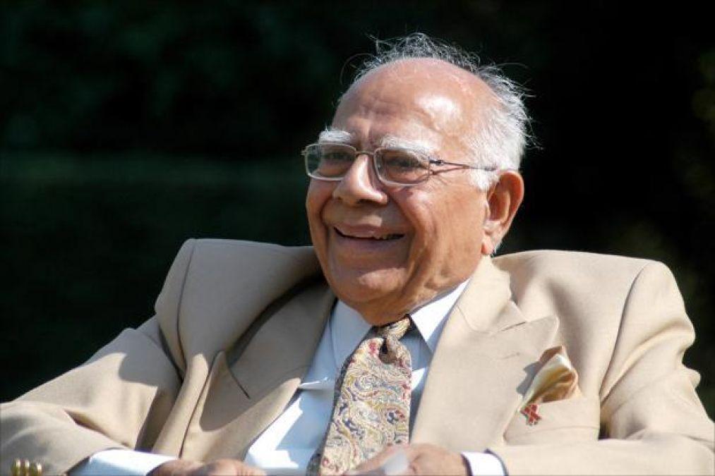 Nation's senior-most lawyer Ram Jethmalani dies tragically, breathes last at age 95