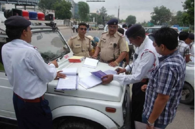 Truck driver fined Rs 86,000 under New Motor Vehicle Act