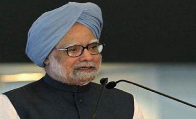 In Manmohan Singh's program, students shouted 'Modi-Modi' slogans