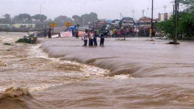 Heavy rains in Gujarat in the last 24 hours