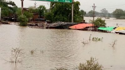 Flood like condition in Hoshangabad, Red alert issued