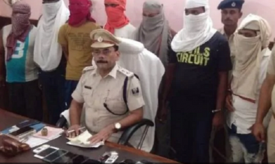 Bihar Police arrested 8 criminals, used to loot on the highway