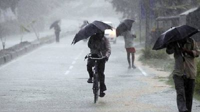 Heavy rainfall expected in 10 states of India, Met Department issued alert