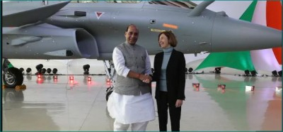 Today Rafale will be formally handed over to Airforce, grand ceremony to be held in Ambala