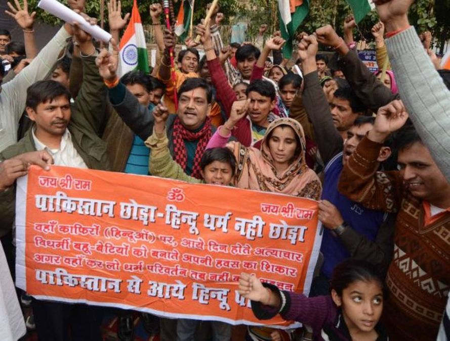 78 Hindu families came to India's asylum after saving their lives from Pakistan