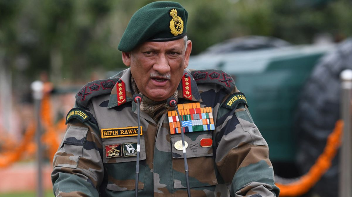 Army Chief Bipin Rawat says,' Army ready for every action, just waiting for order'