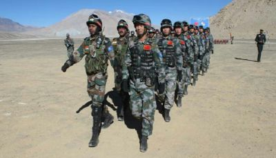 Chinese army again entered in Ladakh, Indian Army stopped the way