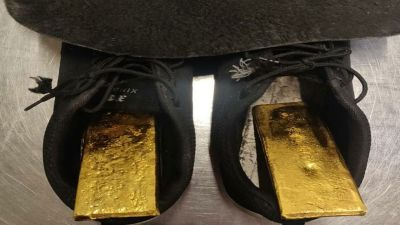 Afghan citizen was hiding two kilos of gold in the shoe sole, caught at Delhi airport