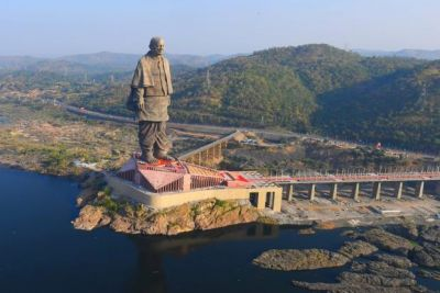 Tourist reaches to visit 'Statue of Unity' to witness spectacular view