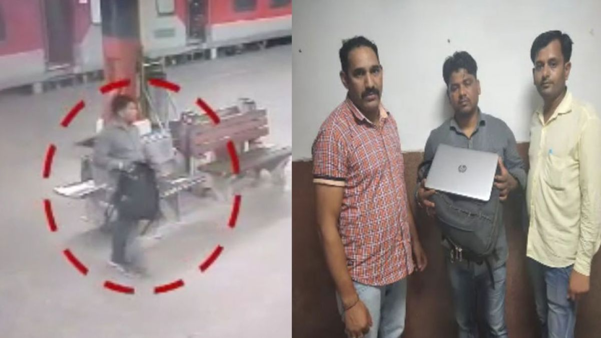 The professional thief was caught red-handed while stealing in train, has been jailed 6 times before