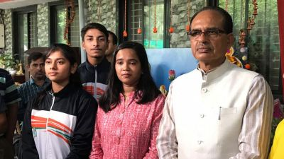 When the Kamal Nath government did not listen, this national player met Shivraj Singh