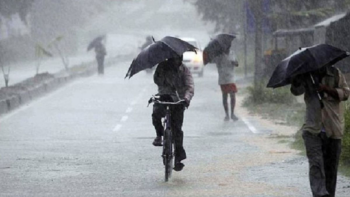 Alert in 13 states including Uttar Pradesh, Madhya Pradesh and Bihar due to heavy rains