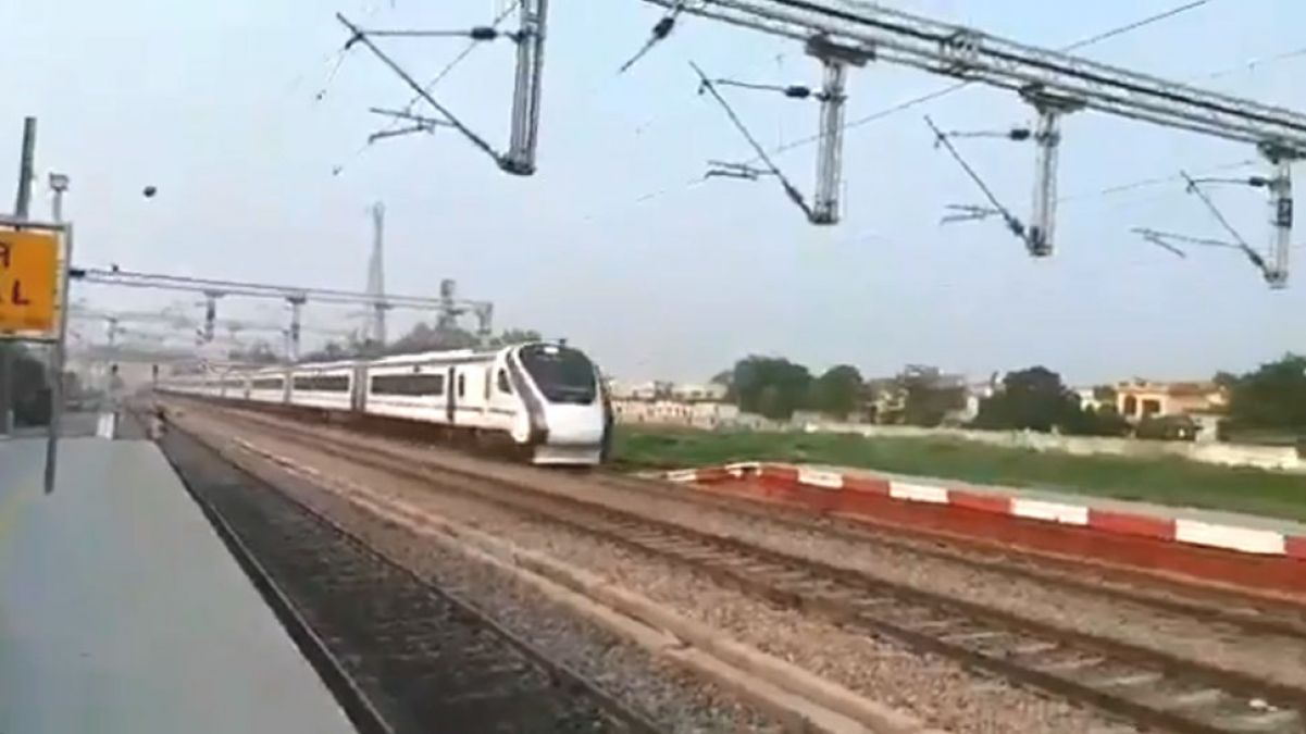 Delhi-Katra: Devotees to travel by Vande Bharat Express in Navratri, Railway Minister posted a video