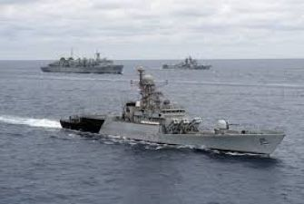 Navies of India, Singapore and Thailand begin their first joint exercise