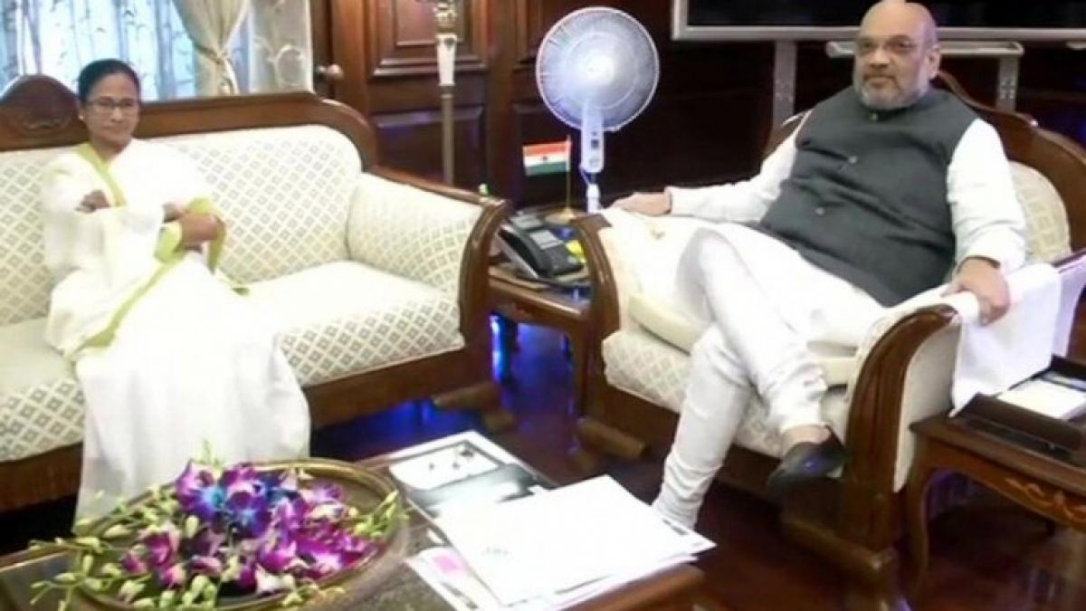 CM Mamta met Home Minister Amit Shah, said this about NRC