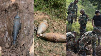 जम्मू कश्मीर: बालाकोट में मिले 9 जिन्दा मोर्टार, इंडियन आर्मी ने किए डिफ्यूज