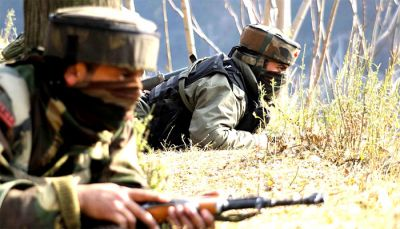 Pakistan violates ceasefire again, firing continues from night in poonch sector