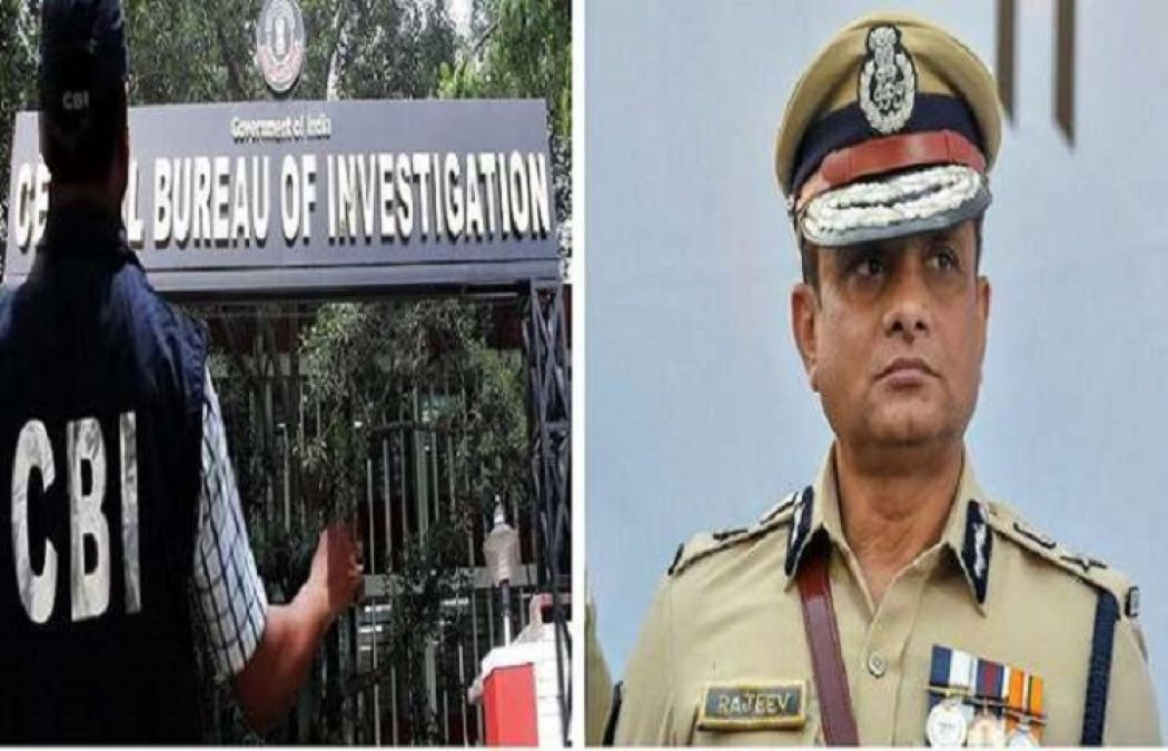 Saradha chit fund case: CBI once again reached Rajiv Kumar's house, questioned wife