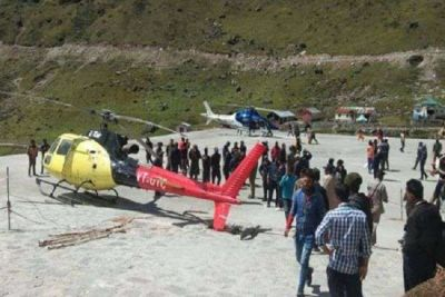 Helicopter crashed in Kedarnath with 6 passengers aboard