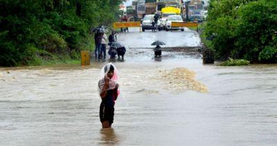 Meteorological Department issued a warning regarding heavy rains in Madhya pradesh