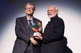 PM Modi honoured with 'Global Goalkeeper Award' by Bill and Melinda Gate Foundation