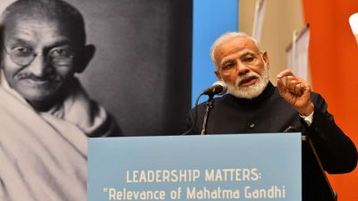Paying tribute to Mahatma Gandhi, PM Modi said- 'His vision was How to Inspire'