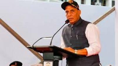Union Defense Minister Rajnath Singh says this targeting Pakistan