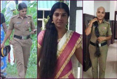 केरल की पुलिस अफसर ने पेश की त्याग की मिसाल, कैंसर पीड़ितों के लिए दान कर दिए अपने बाल