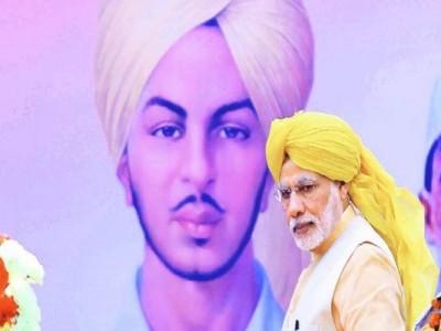 PM Modi mentions Bhagat Singh in 'Mann Ki Baat'