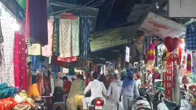 Shops running at a rent of Rs 65 thousand, Security agencies keeping an eye on 20 shopkeepers