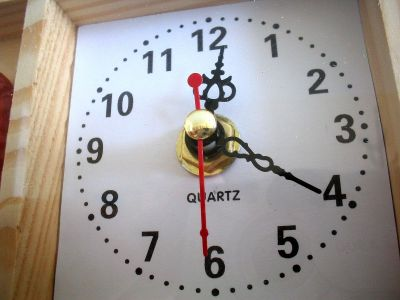 If you have also put a clock in this corner of the house, remove it today or else...