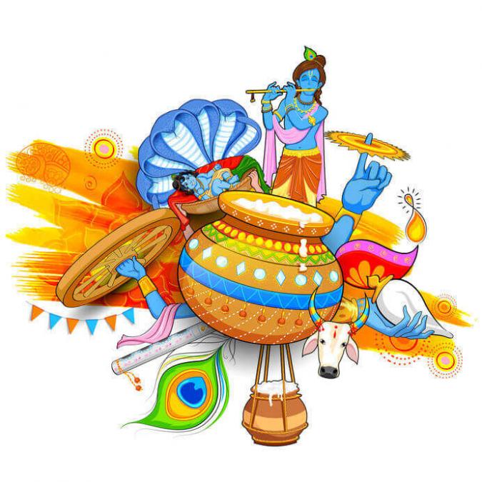 23 अगस्त को है जन्माष्टमी का त्यौहार, इस तरह रखे व्रत
