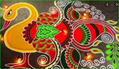 This Diwali decorate your home with this amazing Rangoli designs