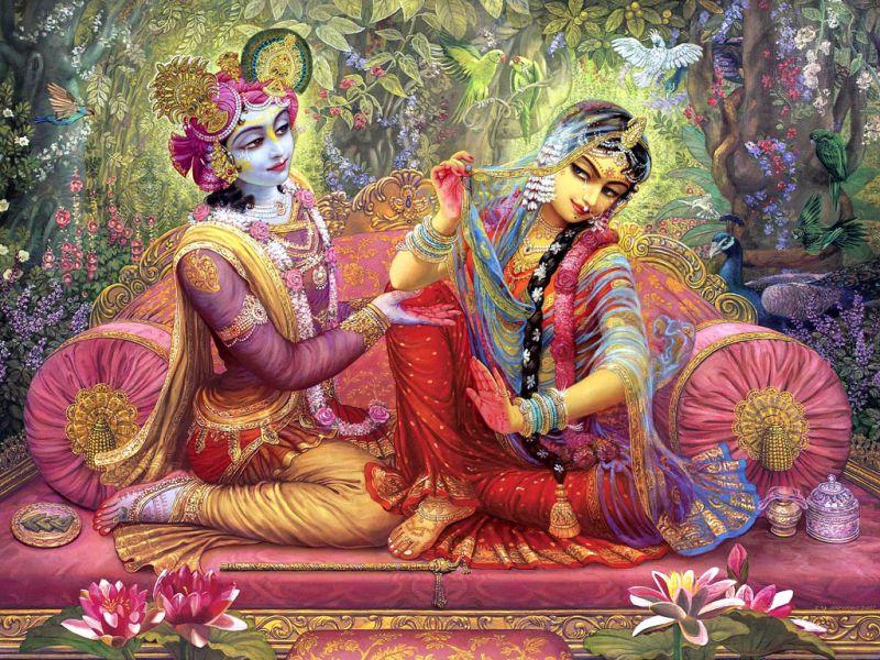 janmashtami 2018 : पति-पत्नी के रिश्ते को मजबूत बनाती है राधा-कृष्ण की ये तस्वीरें