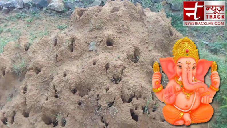 बांबी की मिट्टी से बनी 'गणेश प्रतिमा' आपको देगी सुख-समृद्धि और धन