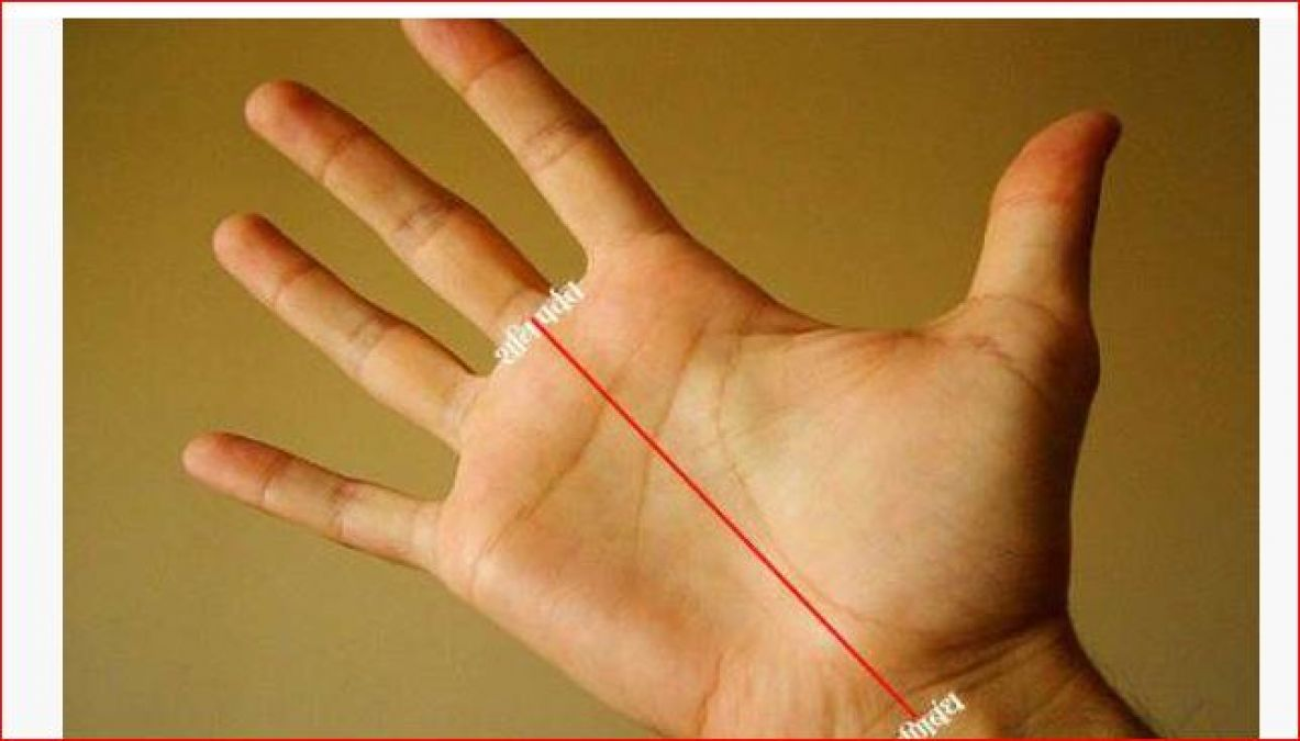This line of hand tells that in future you will be rich or poor
