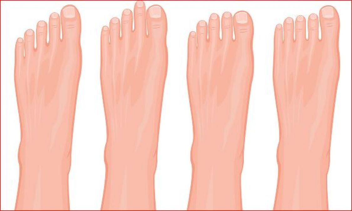 If the second finger of your foot is big, then this news is for you only