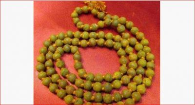 If you are surrounded by trouble, wear turmeric Maala today