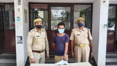 Photo posted on social media with pistol, youth arrested from Ghaziabad