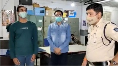 Aamir and Imran Khan arrested from Indore for selling 4000 injections for 60,000