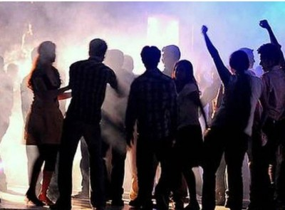 Delhi police raided at a restaurant after inputs of rave party