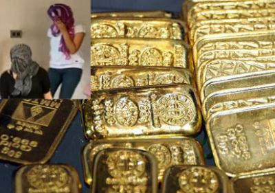 Air hostess caught with 4kg gold dust in baggage at Mumbai airport