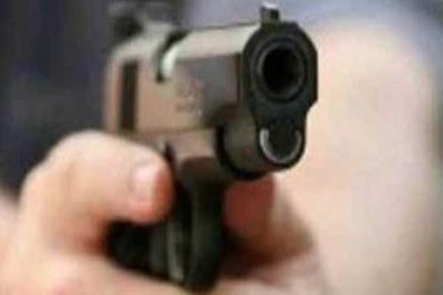 A young man was shot dead in the village, angry villagers created a ruckus