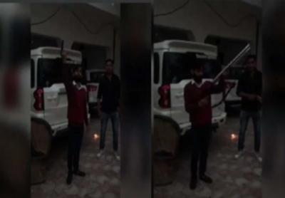 Young man firing nonstop, video goes viral on social media