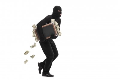 Robbery in a private courier company in Muzaffarpur