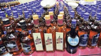 Gopalganj: Production department seized large consignment of illegal liquor, three smugglers arrested