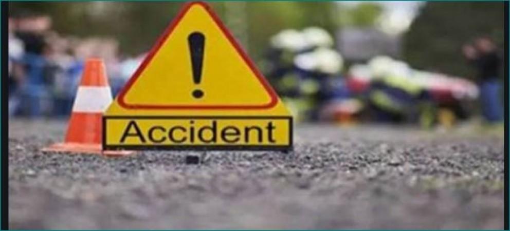 इंदौर में हुआ भीषण सड़क हादसा, 6 लोगों की मौत