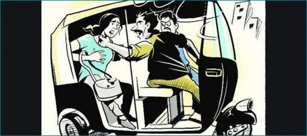 लड़की को ऑटो में अगवा कर बजा दिए तेज गाने और लूट ली आबरू, हुए गिरफ्तार