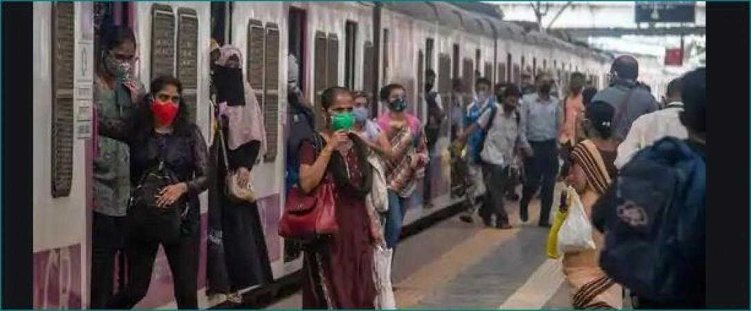 मुंबई: चलती ट्रैन से पति ने दिया पत्नी को धक्का